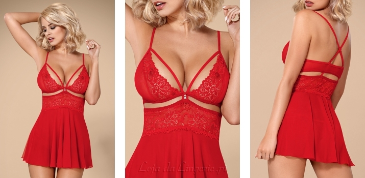 Babydoll Peggy Red €27,90