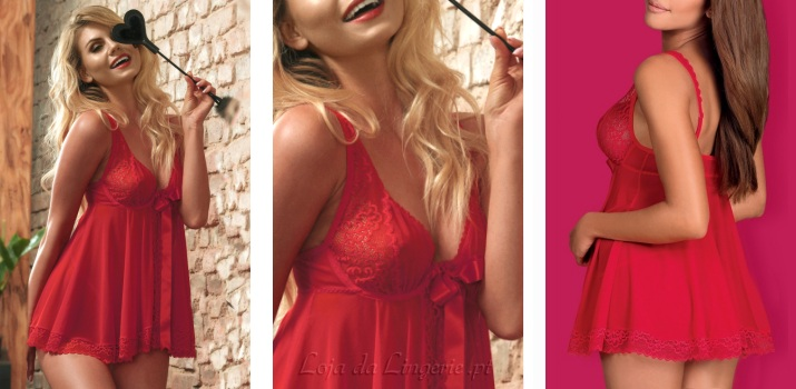 Babydoll Rougebelle Red €31,90