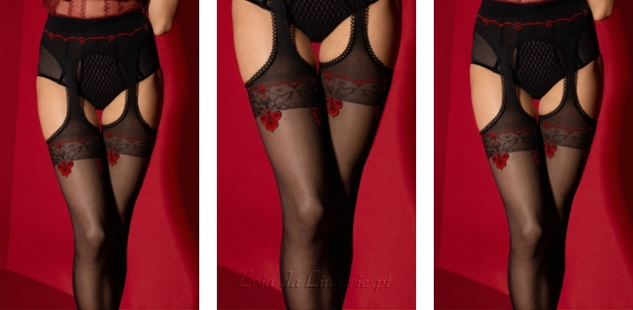 Collants Amour Rouge €15,90