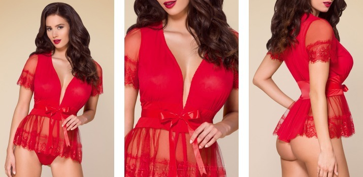 Robe Leonor Seduction Red €34,90