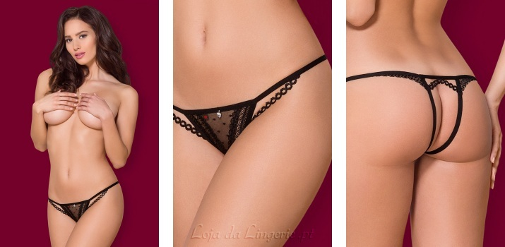 Tanga Liliana Seduction Black €10,90
